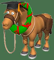 xmas-horse